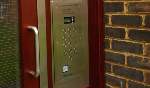 Door Entry Systems From County Security Services Letchworth